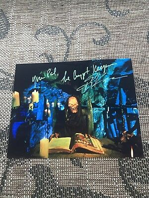 Tales From the Crypt John Kassir Signed Crypt Keeper Autographed Photo Proof