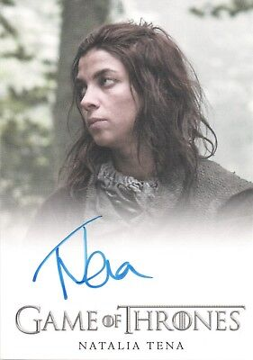 Game of Thrones Season 3, Natalia Tena 'Osha'' Autograph Card
