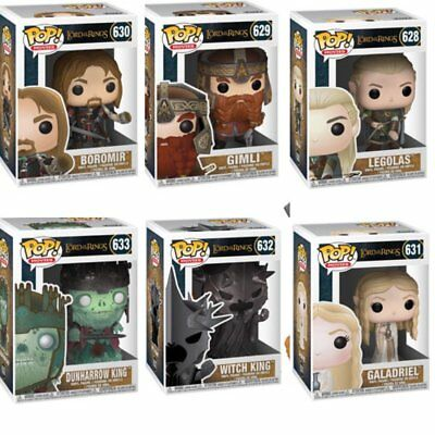 Lord Of The Rings Funko Pops. NEW. MINT