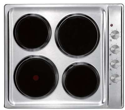 InAlto 60cm Solid Element Stainless Steel Electric Cooktop ICE6