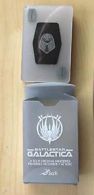 SYFY BATTLESTAR GALACTICA PLAYING CARDS Sealed in case Rare from MiniSeries