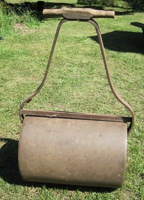 LAWN ROLLER iron GARDEN vintage LAWN EQUIPMENT antique greenhouse HAND TOOLS
