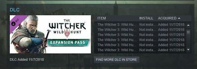 The Witcher 3 Wild Hunt: Game of The Year (All DLC) PC Steam Account + DOOM & $5