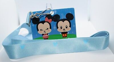 *MICKEY & MINNIE MOUSE* Disney Parks (Authentic!) Pin Trading Lanyard - NEW!