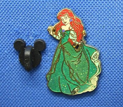 *ARIEL* The Little Mermaid (Green Glitter Dress) 2012 Disney Pin