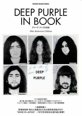 Deep Purple All History Japan Ultimate Book Jon Lord, Ritchie Blackmore