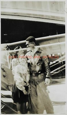African American Fighter Pilot Double Exposure Found Photo Vtg 1940S 1950S Black