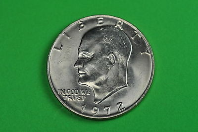 1972-P  Brilliant Uncirculated (Eisenhower) US One Dollar Coin