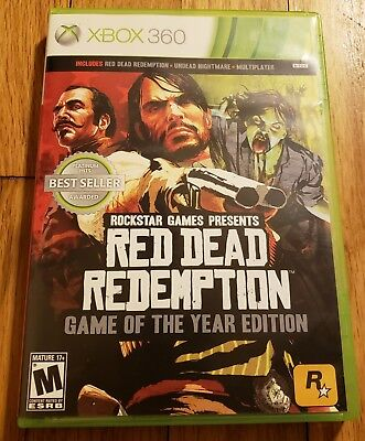 Red Dead Redemption -- Game of the Year Edition Microsoft Xbox 360