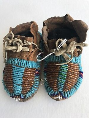 Northern Plains Baby Moccasins, c.1890