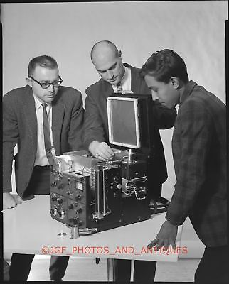 1960S Early Computer & Engineers Vtg 8X10 Large Format Photo Negative