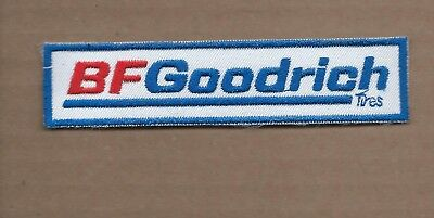 NEW 1 1//8 X 4 3//4 INCH BF GOODRICH TIRES IRON ON PATCH FREE SHIPPING