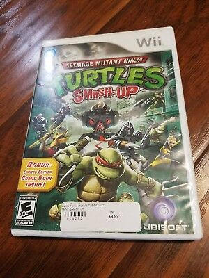 Teenage Mutant Ninja Turtles Smash-Up (Nintendo Wii) - Complete / VGC