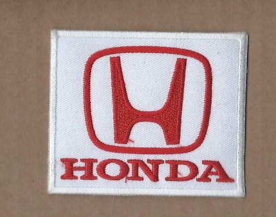 New 2 5/8 X 3 1/4 Inch Honda Iron On Patch Free Shipping