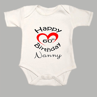 Baby Grow BodySuit Body Suit Vest Funny Heart I Love My Brother This Much
