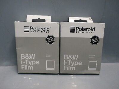 2pack Polaroid Originals Standard B&W Film for i-Type Cameras FREE SHIPPING