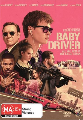 Baby Driver (DVD, 2017) NEW
