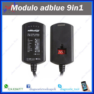 Ad Blue Emulatore Adblue 9In1 Daf Man Scania Iveco Volvo Renault Mercedes Ford
