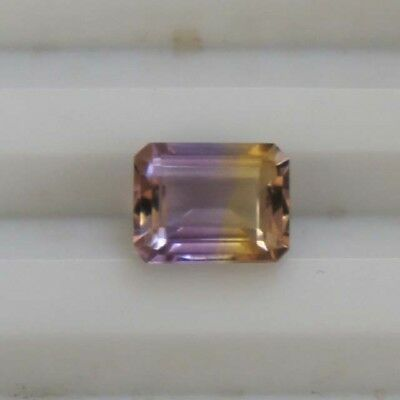 Gorgeous Natural Ametrine Faceted Octogen Shape Loose Gemstone