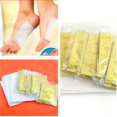 10PCS Foot Pads with Adhesive Patches Detox Chinese Medicine Paste Health CareJP