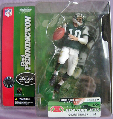 Orginal McFarlanes Figure, Chad Pennington, Chase, Jets NFL Serie 7