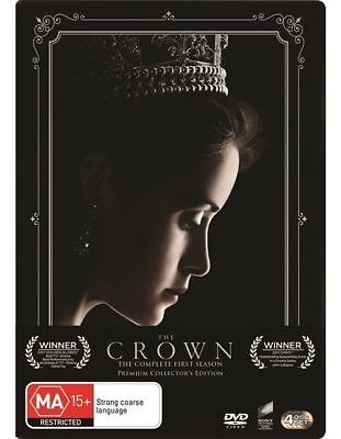 The Crown : Season 1 (DVD, 2017, 4-Disc Set)