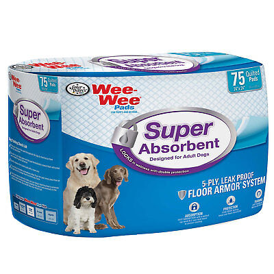 Wee-Wee Super Absorbent Potty Pads