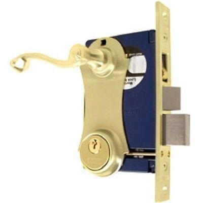 Marks Mortise Ornamental Iron Door Lock 9215