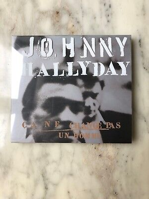 """Johnny Hallyday """"ca Ne Change Pas Un Homme"""" Edition Digipack Deluxe Neuf"""