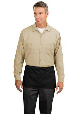 Port Authority Stain Resistant Waist Apron with Pockets
