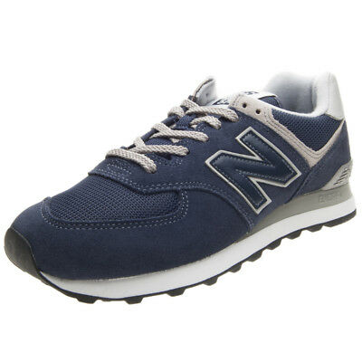 SNEAKERS NEW BALANCE Lifestyle Ml574Egn Uomo Camoscio Blu