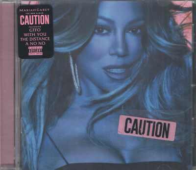 Mariah Carey - Caution [New CD] Explicit (Factory Sealed)