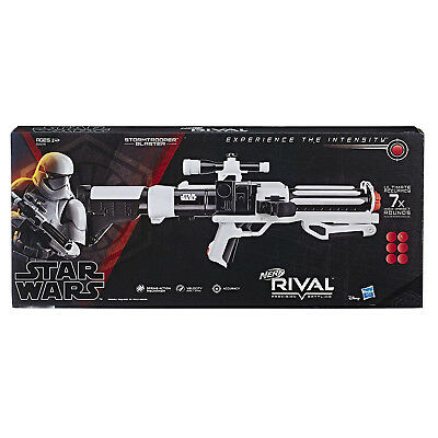 Rival Nerf Star Wars First Order Stormtrooper Blaster. Shipping is Free
