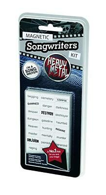 💥New💥 HEAVY METAL Magnetic Songwriters Kit Refrigerator Magnets NO. 1 HIT