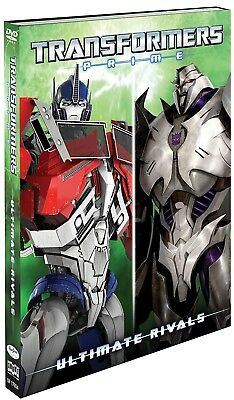 Transformers Prime: Ultimate Rivals (DVD, 2017) Brand New - Cartoon