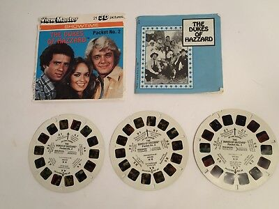 The Dukes of Hazzard - View Master Complete 3 Reel Set Packet 2
