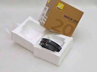 Nikon/Nikkor Empty box with inserts for AF 20mm F2.8D + Distant Ring Spare/Part