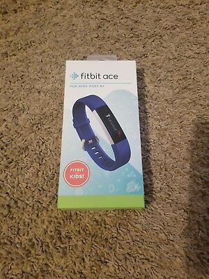 Fitbit Ace Kids Activity Tracker ( Electric Blue ) Model Fb411Srbu , New In Box