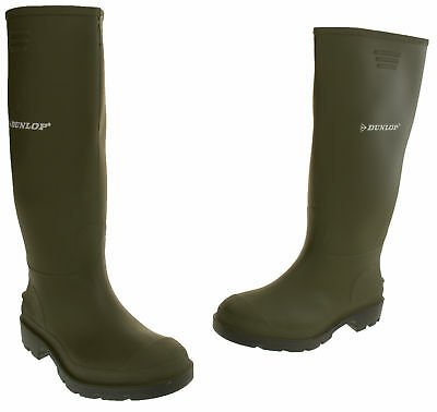 Mens Dunlop Wellington Boots Waterproof Wellies Welly Boot Size 7 8 9 10 11 12