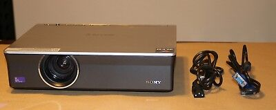 Sony VPL-CX155 3LCD Projector 3500 Lumens.193 Hours on the Lamp.Power & VG Cord