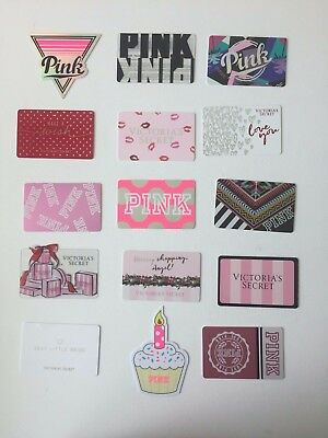 Lot of 15 Gift Cards Victoris's Secret Pink  COLLECTIBLE NO VALUE  NEW