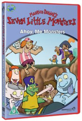 Seven Little Monsters: Ahoy, Me Monsters DVD NUEVO