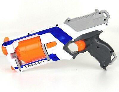 Nerf Elite N Strike Strongarm Blaster Dart Gun Toy Kids Foam Bullets up To 90 Ft