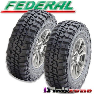4 New 315 75r16 Federal Couragia Mud Tires M T Mt 315 75 16 R16