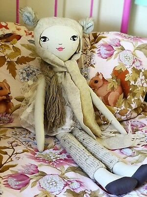 Heirloom Handmade These Little Treasures 75cm (Large) Lola Doll & Extra Outfits