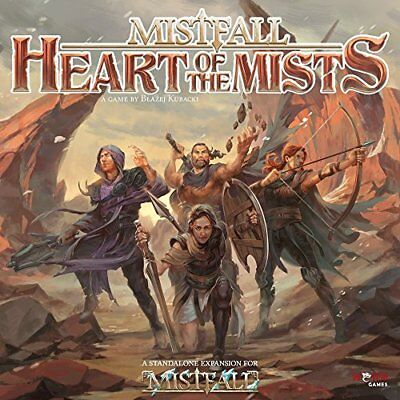 TOY-NSKN Games: Heart Of The Mists Board Game NUEVO