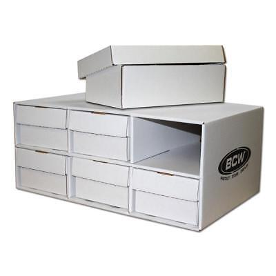 BCW High Quality Shoe House with 6 Shoe Boxes - holds 9600 cards !