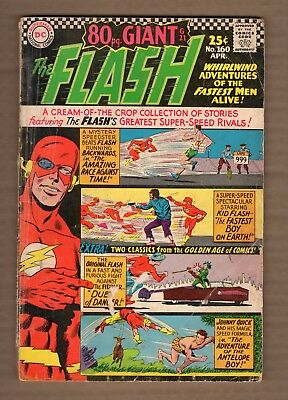 The Flash 80 pg. Giant 160 (1966 DC) Low Grade