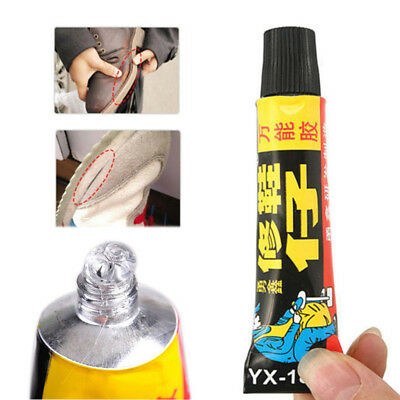 18ml Super Adhesive Repair Glue For Leather Shoe vinyl Rubber Canvas Strong Bond