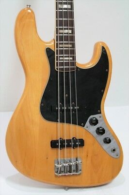 Fender 1974 Jazz Bass Natural With Hard Case